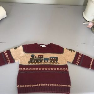 Janie and Jack little boys sweater 12-18 months